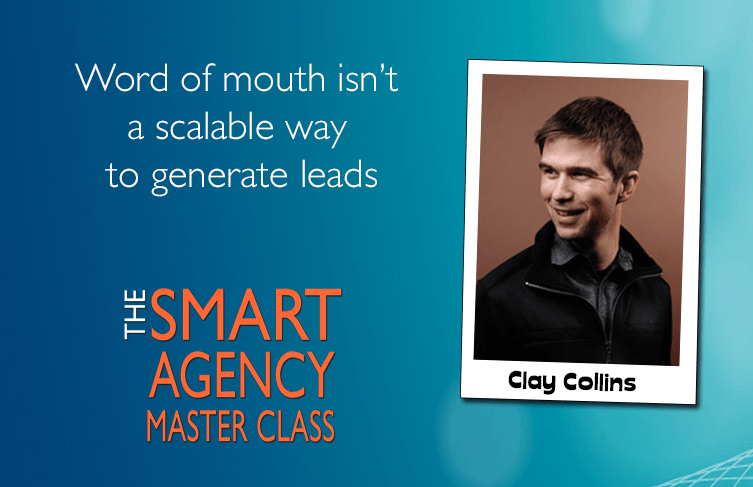 word of mouth is not scalable for lead generation
