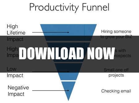 Download the Productivity Funnel Worksheet