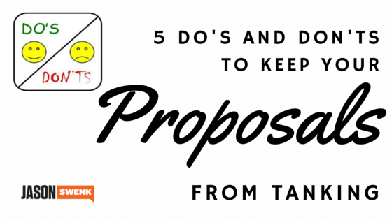 Marketing Proposal Do's & Don'ts to Convert More Client Leads