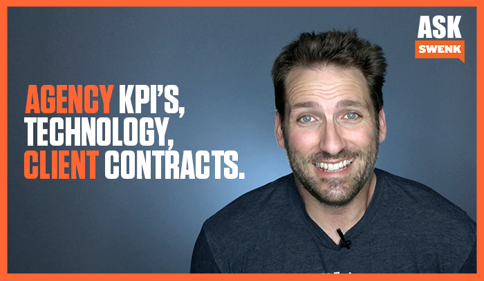 Technology, Agency KPI's & Client Contracts