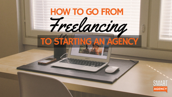 freelancing to agency
