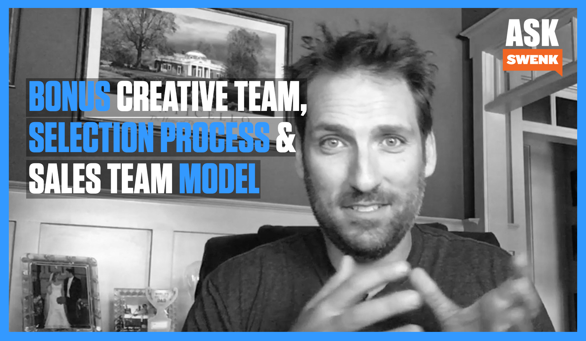 How to BONUS Creative Team, Sales Processes & Sales Team Model