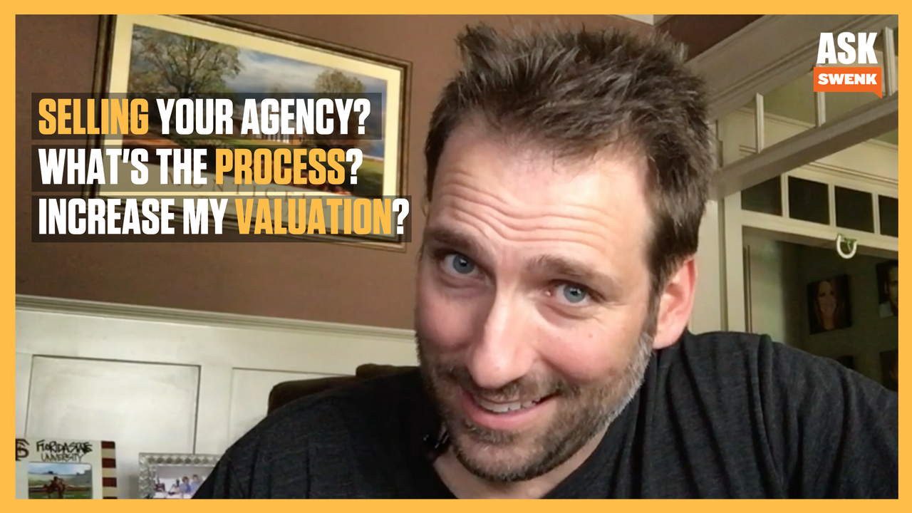 How You Can Gain Profit And Sell Your Agency #AskSwenk43