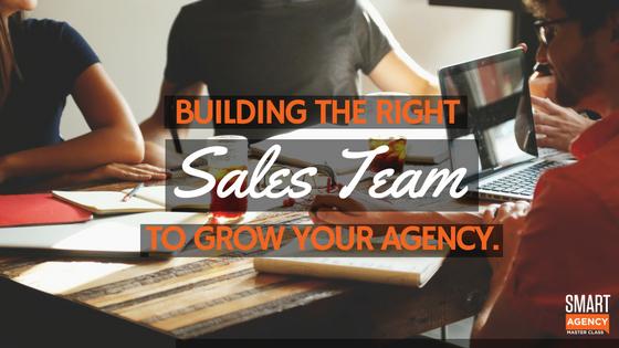 building sales team