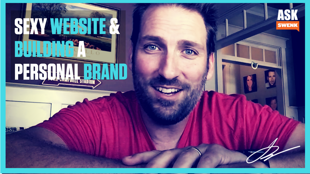 Sexy Web Design for Your Agency & Using Your Personal Brand.... #Askswenk Ep 55