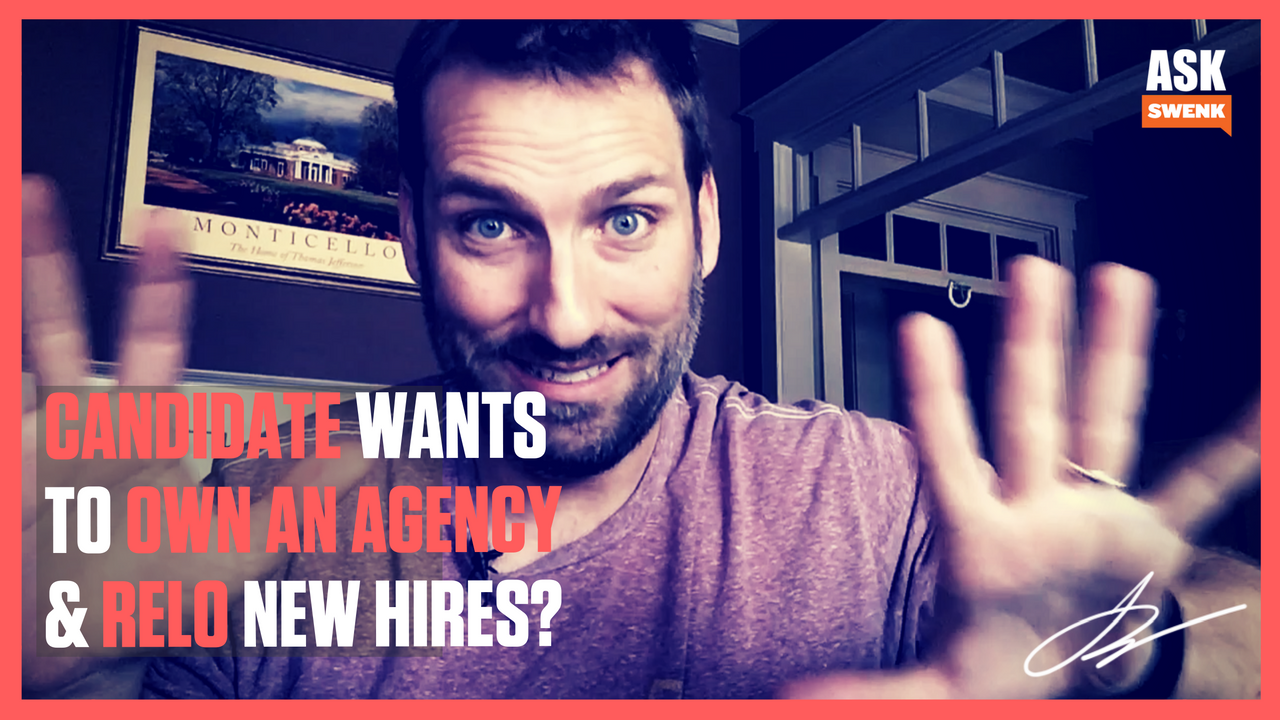 Hiring Practices:They Want to Run Their Own Agency? #AskSwenk EP56