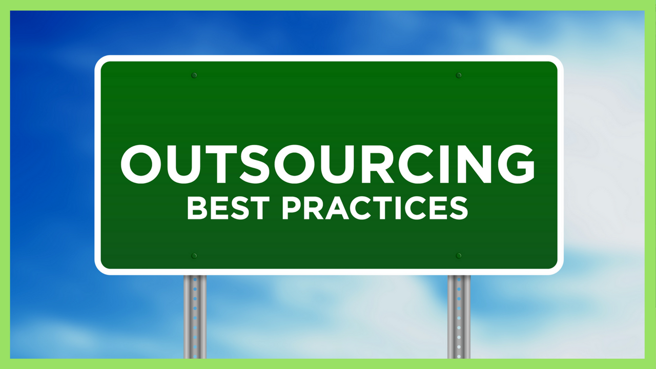 outsourcing best practices