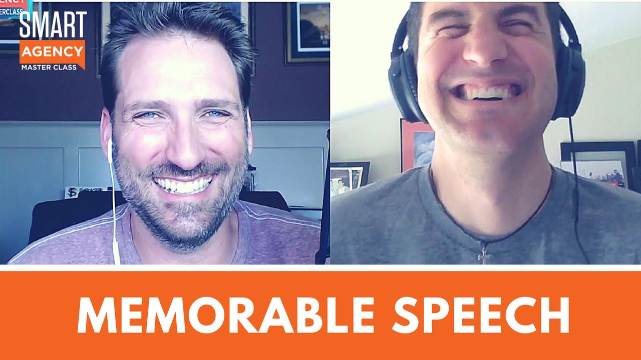 memorable speeches generate leads
