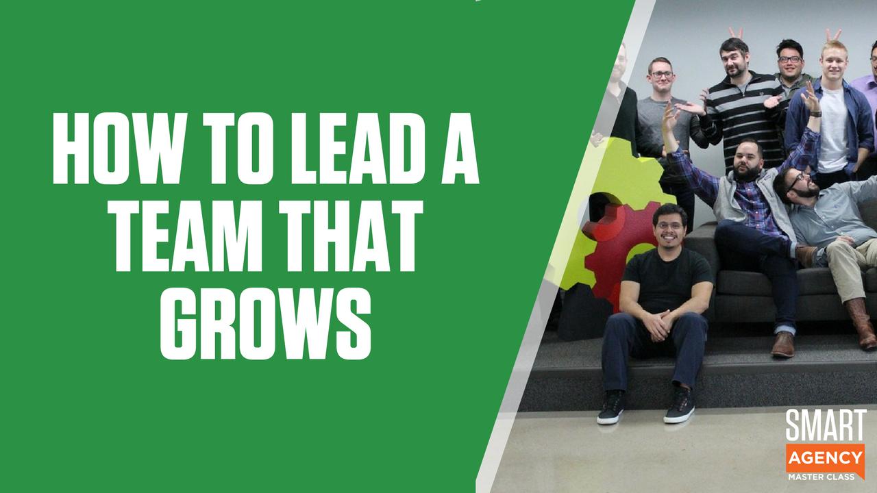 lead a team