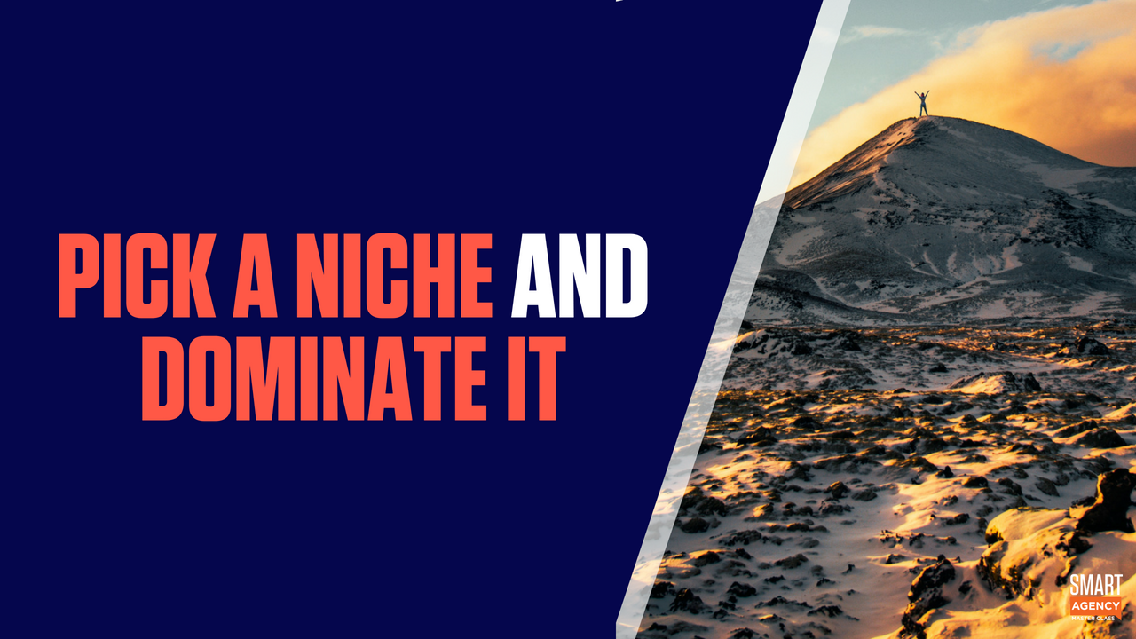 Digital Marketing Agency Niches: Pick a Niche and Dominate It