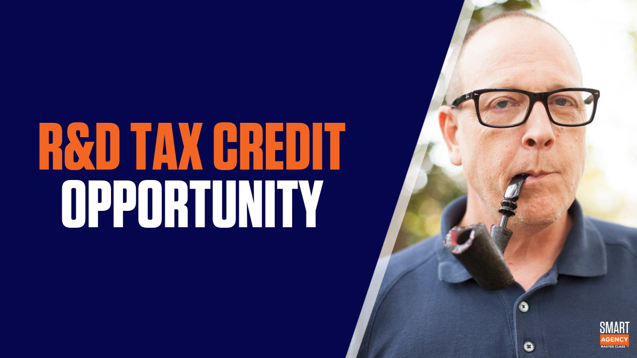 Does Your Agency Qualify for a $150K R&D Tax Credit?