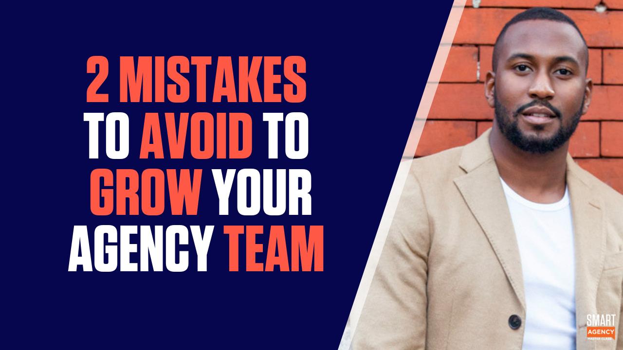 2 mistakes to avoid