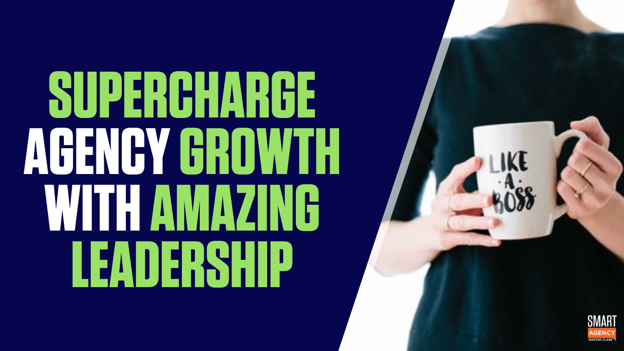 supercharge growth - amazing leadership
