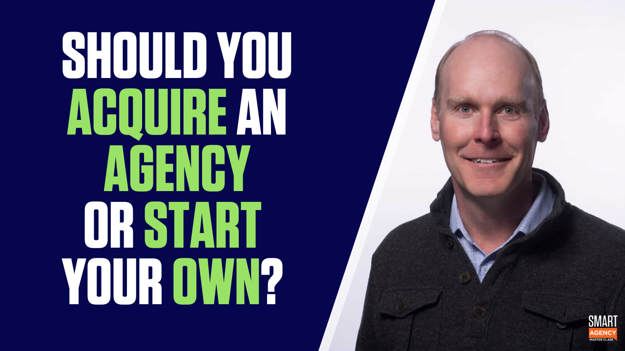 acquire an agency
