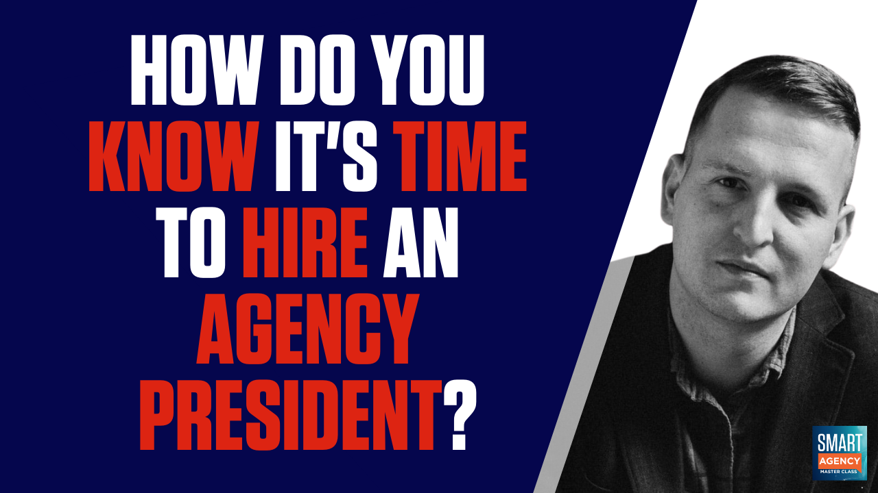 hire an agency president?